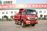 De Vrachtwagen van de Stortplaats van het Merk van Sinotruk met het Duiken van het Lichaam van de Stortplaats Corvering 6X4 Type