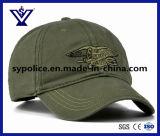 고품질 육군 녹색 면 군 모자 야구 모자 (SYC-0015B)