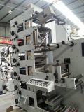 Impresora de Flexo con 2 /Lamination que cortan con tintas rotatorios (ZB-320-6COLOR)