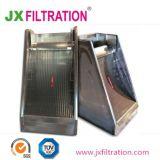 Inclinação da peneira de malha de tela para tratamento de água