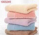 100%年綿の安いホテル、ホーム織物、35X75cmの120g浴室タオル、手タオルの