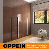 В High Gloss Oppein длинными ручками деревянный шкаф (YG16-РР02)