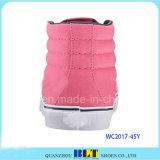 Zapatos ocasionales de la lona segura de la marca de fábrica del estudiante