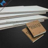 상자를 만들기를 위한 재생된 서류상 회색 칩 널 그리고 판지