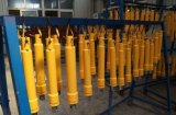 3/4/5 de cilindro do petróleo hidráulico do pistão do teste hidráulico do estágio para Scissor elevadores