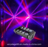 vierling 8*10W RGBW in 1 van de Hoofd LEIDENE van de LEIDENE Straal Bar/8 van de Spin Staaf Straal van de Spin