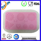 方法New Silicone Lace Mat、Sugar Lace Mat、Cake DecorationのためのCake Lace Mold