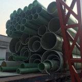 Pipe composée anti-corrosive de fibre de verre pour le ramassage de système d'égouts