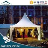 Hohes Pagodegazebo-Zelt der Spitzen-6X6m Wedding für Garten-Partei