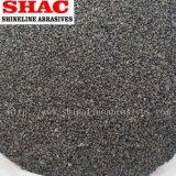 Ficha castanha de óxido de alumínio fundido em pó e areia Fepa&norma JIS