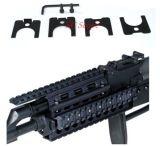 선그림 광학 AK-47/74명의 Ris Handguard 쿼드 Picatinny 철도망 마운트 자유로운 가로장 덮개 가드