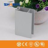 Extrusion en aluminium d'enduit électrophorétique blanc de ruban de matériau de construction pour l'industrie de porte de guichet