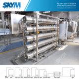 Sistema de tratamiento de aguas con el filtro de la ósmosis reversa