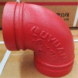 Gomito/Cogo degli accessori per tubi per i sistemi di spruzzatore di fuoco con FM UL/Ulc