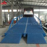 8 tonnes de capacité de charge de vendre directement en usine hydraulique de rampe de chargement de wagons pour le camion