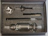 Caixa de oferta das plataformas de óleo de alta qualidade do tubo de Vidro coletor néctar para fumar
