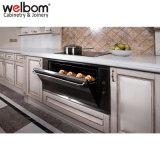 Welbomのベストセラーの白く優雅な純木の食器棚