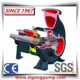 Horizontale rostfeste und abschleifende chemische zentrifugale Papiermassen-Pumpe