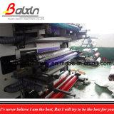 Plastikgriff sackt Einkaufstasche-flexographische Drucken-Maschine ein