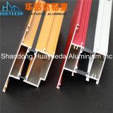 El aluminio sacó perfil de aluminio cubierto polvo del color de Ral de los perfiles
