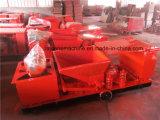 Lajes de revestimento concretas, laje do telhado do equipamento de construção que faz a máquina