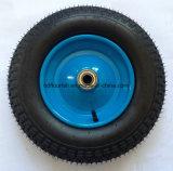 손수레 트롤리를 위한 압축 공기를 넣은 고무 바퀴 3.50-8