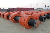 UHMWPE Ponton du tuyau de plastique flottants de dragage pour le PEHD ou flexible en acier