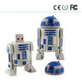 Movimentação material do flash do USB do PVC do Star Wars (interruptores)