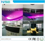 Da curva macia macia de 360 graus do módulo P4 do diodo emissor de luz da cor cheia de Shenzhen P4 indicador video redondo do diodo emissor de luz