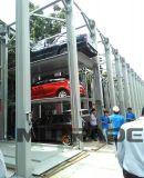 3 4 عربة هيدروليّة المعبئ تخزين سيارة مصعد موقف