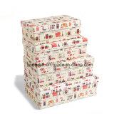 포장 종이에 의하여 중첩된 선물 상자를 인쇄하는 디자인을 주문을 받아서 만드십시오