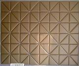 décoration intérieure moderne de Panelfor de mur en cuir de l'unité centrale 3D