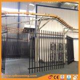 1,8 m (H) *2.4m (W) Lanza ornamentales valla de acero tubular de Australia