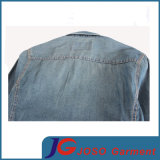 Retro Slim Leisure Denim Shirt per Man (JC7047)