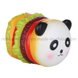 Panda Hamburger pu ralentir la hausse du stress Squishy Squeeze Jouets