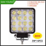 48W à LED projecteur Voyant des feux de travail Offroad LED 4inch des feux de conduite