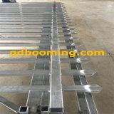 2.4m (H) rete fissa ornamentale tubolare dell'acciaio dell'Australia del germoglio di *2.4m (w)