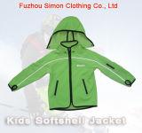 Crianças Softshell Jacket com o Capô