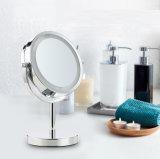 De hete Verkopende Spiegel van de Make-up van de Lijst van 6 Duim met LEIDEN Licht