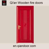 Singolo portello di legno resistente al fuoco interno