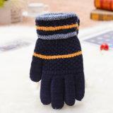 Полностью настраиваемые вручную вещевым ящиком акриловый Mittens зимние перчатки для детей