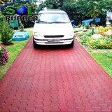 Mattonelle di pavimentazione di gomma riciclate strada privata