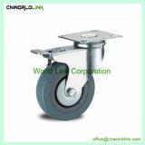 30 kg de carga sólida de laminagem de Nylon bola roda pivotante