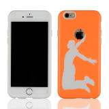 iPhone 6s를 위한 반대로 Scratch Defender Slim TPU Case