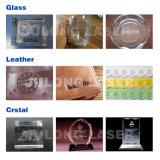 Qualitäts-Stempel-Laser-Gravierfräsmaschine mit CO2 Glaslaser-Gefäß für Verkauf