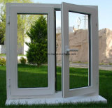 Lion Glass single Pane PVC Tilt & turn Window with Cheap Cost