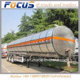 Сталь алюминиевого сплава трейлера Tranker хранения горючего газолина 45000 литров сделала