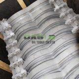 La norma ASTM A53 Programación utiliza acero inoxidable tipo resorte arco de perforación centralizador carcasa