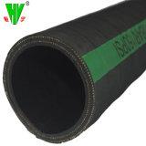Il nero di gomma industriale dei prodotti tubo flessibile dell'acqua di scarico di 2 pollici