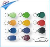 kundenspezifische Schlüsselmarken 125kHz und 13.56MHz Plastik mit Proben